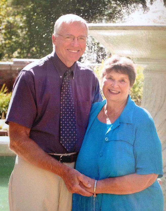Bob and Annette Morden
