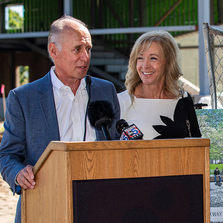 Mark & Jill Oman