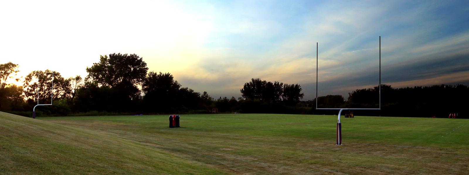 UNI's Outdoor Football Pracitce Facility