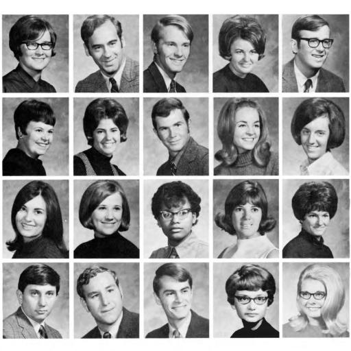1970 UNI Yearbook Student Photos