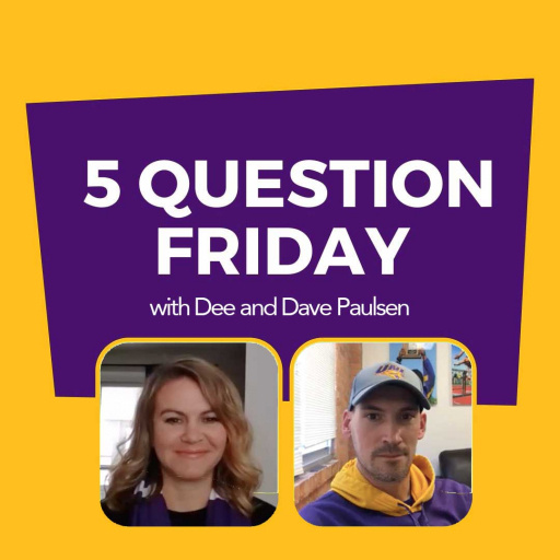 #FiveQuestionFriday with UNI Power Couple Dee and Dave Paulsen