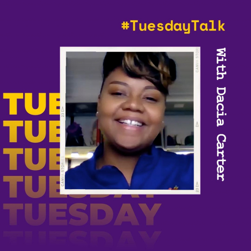 #TuesdayTalk with Dacia Carter from Student Retention