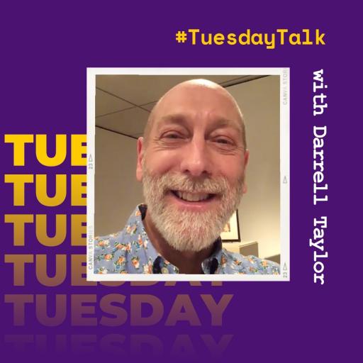 #TuesdayTalk with UNI Art Gallery Director Darrell Taylor