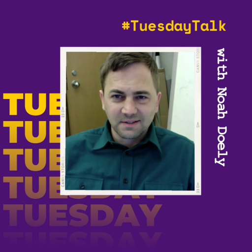 #TuesdayTalk with Photography Professor Noah Doely