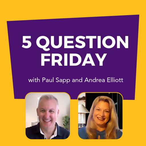 Five Question Friday with Paul Sapp and Andrea Elliott