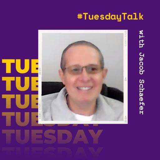 #TuesdayTalk with Jacob Schaefer