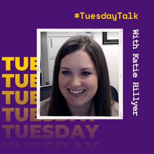 #TuesdayTalk with Katie Hillyer